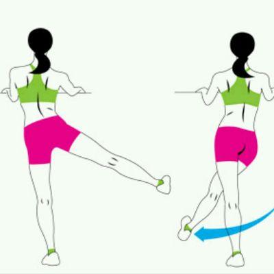 Cross Body Leg Swings Right
