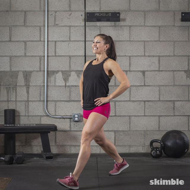 How to do: Lunges - Step 8