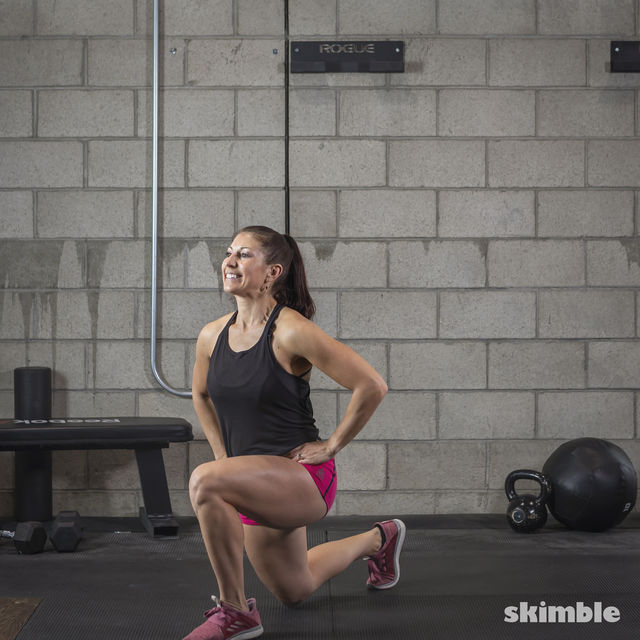 How to do: Lunges - Step 7