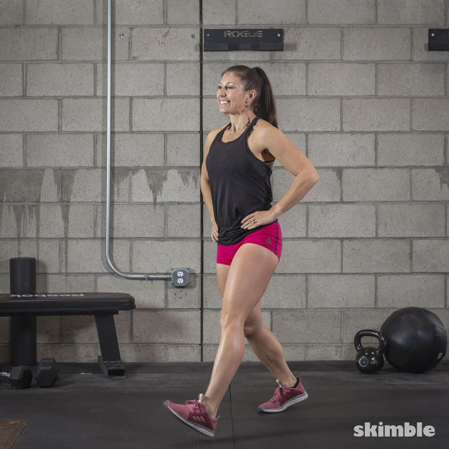 How to do: Lunges - Step 6