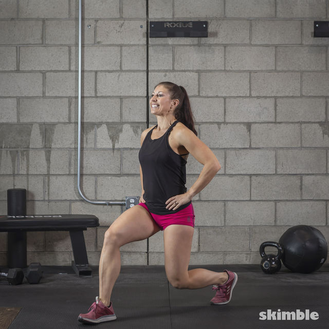 How to do: Lunges - Step 4