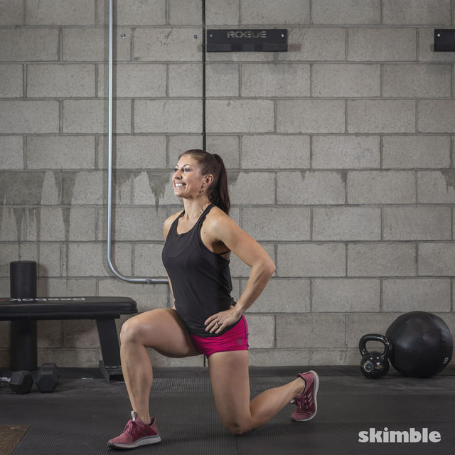 How to do: Lunges - Step 3