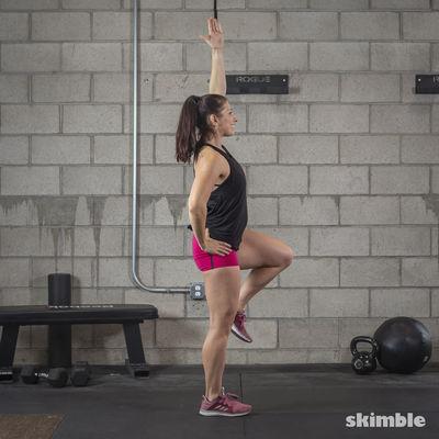 Single-Leg Squat Touchdowns