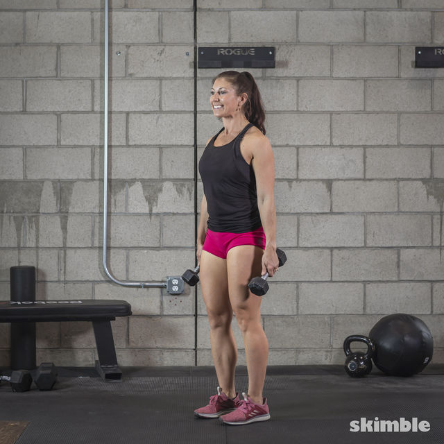 How to do: Dumbbell Deadlifts - Step 4