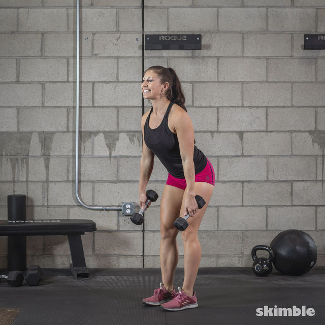 How to do: Dumbbell Deadlifts - Step 3