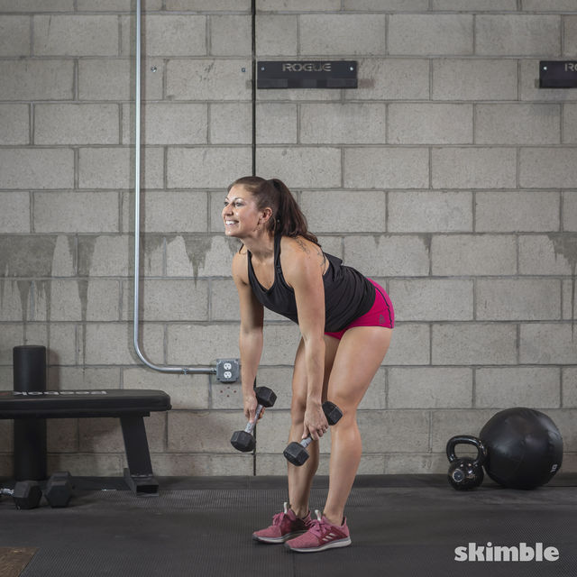 How to do: Dumbbell Deadlifts - Step 6