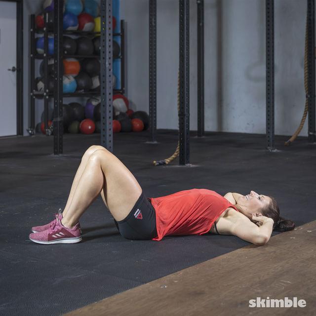 How to do: Oblique Crunches - Step 4