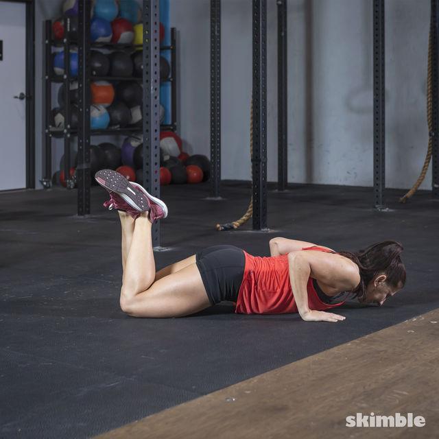 How to do: Kneeling Push-Ups - Step 3