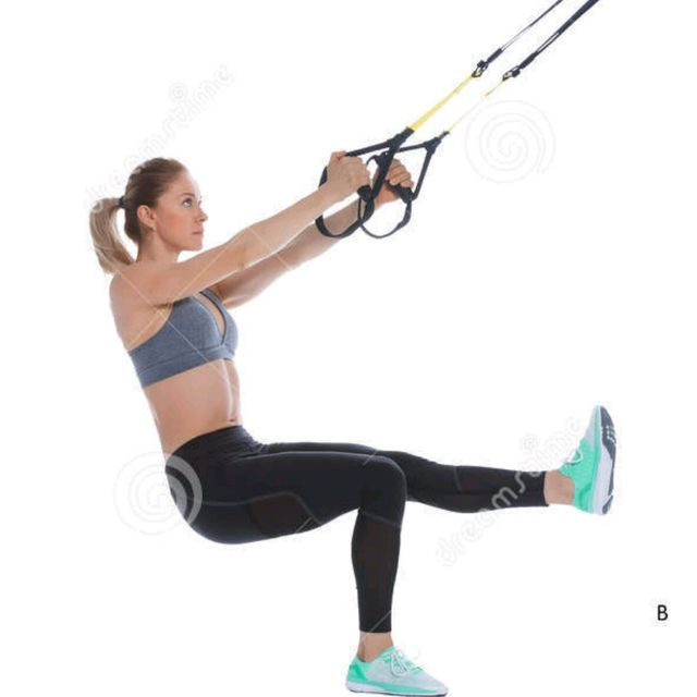 TRX LEGS&CHEST&TRICEPS WORKOUT