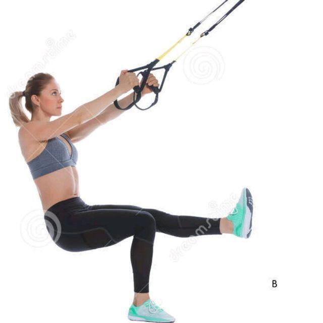 TRX Workout Legs & Shoulders.