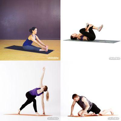 Evan Stretching