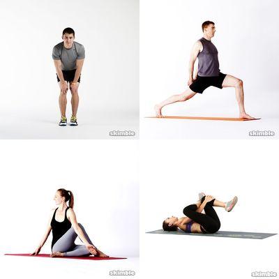 Stretching / yoga