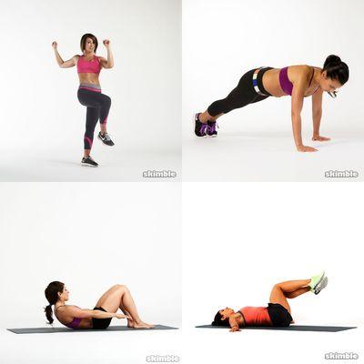 Workout Pieces I Like