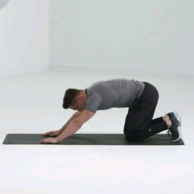 Push-up To Child's Pose