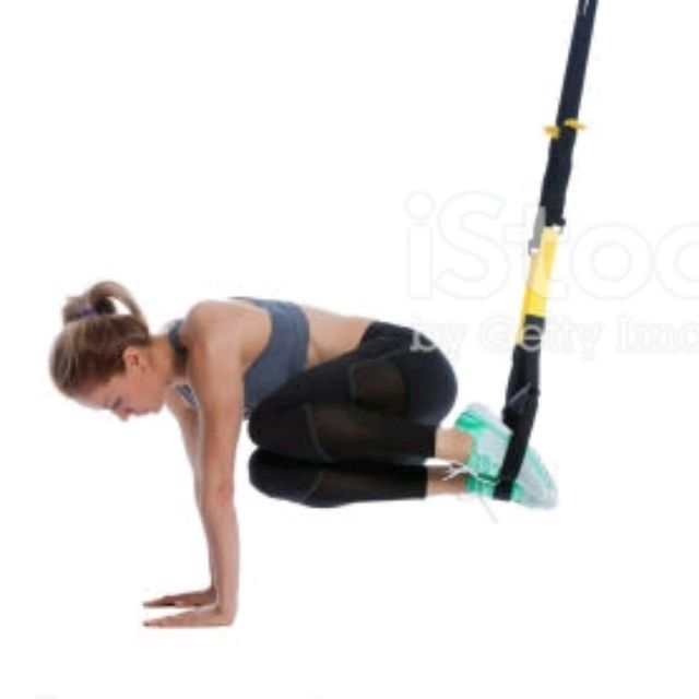 Trx Oblique Crunch Exercise How To Workout Trainer By Skimble