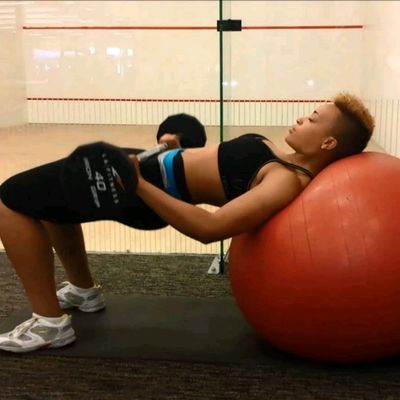 Weighted Hip Thrust On Ball