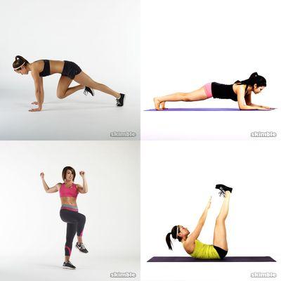 ejercicios duros
