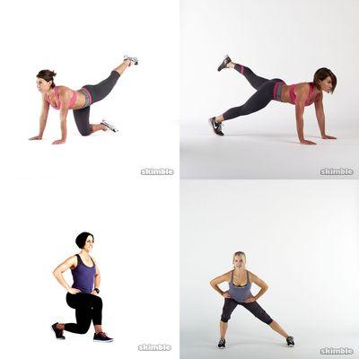 Lower body (legs/butt)