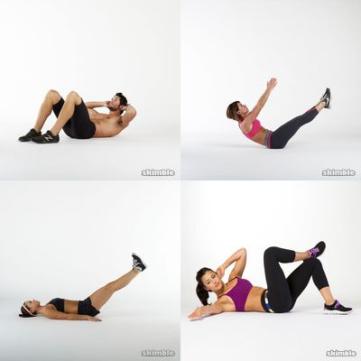 Daily workout abs