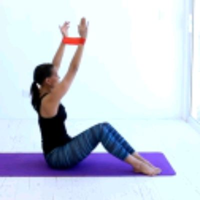 Sit Up & TWIST With Band