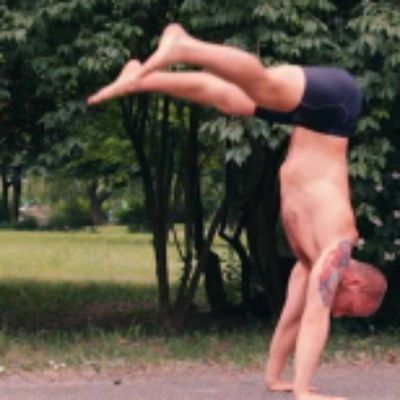 Straddle Press To Handstand