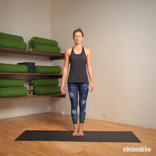 How to do: Hot Style Tree Pose - Step 1