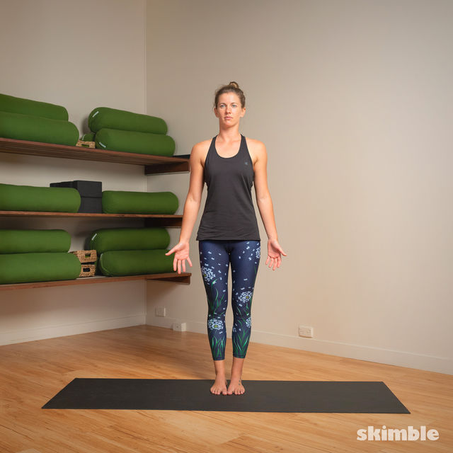 How to do: Hot Style Tree Pose - Step 4