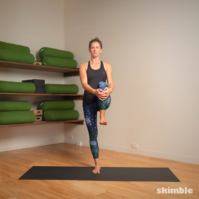 How to do: Hot Style Tree Pose - Step 5