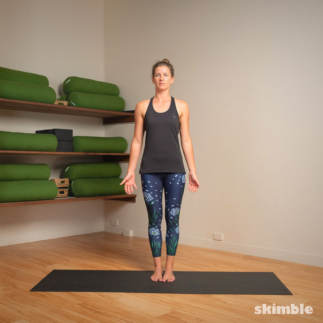 How to do: Hot Style Tree Pose - Step 7