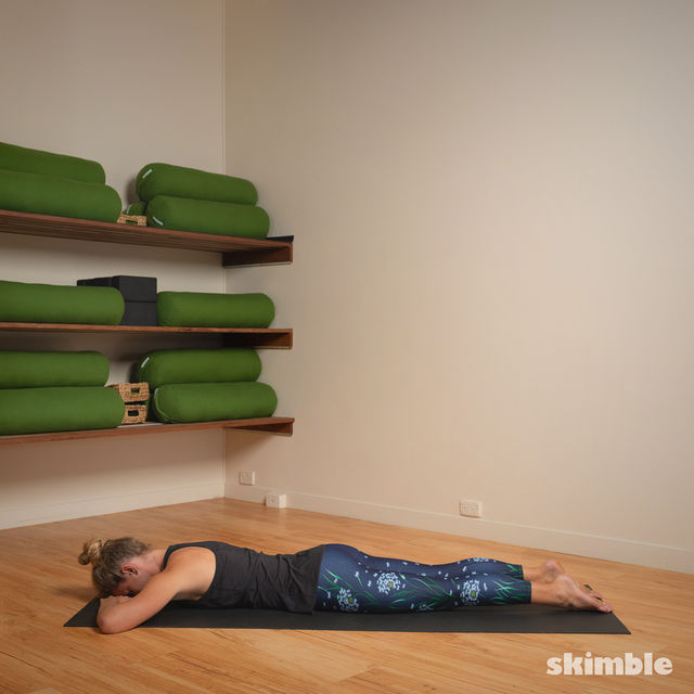 How to do: Hot Style Locust Pose - Step 1