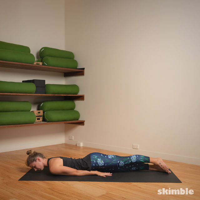 How to do: Hot Style Locust Pose - Step 2
