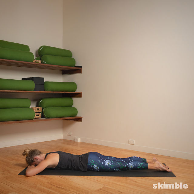 How to do: Hot Style Locust Pose - Step 5