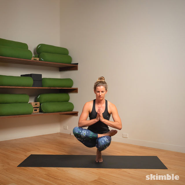 How to do: Toe Stand - Step 5