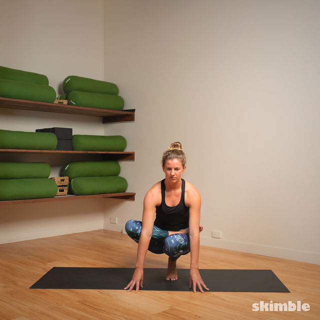 How to do: Toe Stand - Step 6