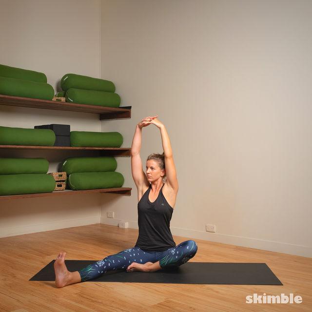 How to do: Head to Knee Pose - Step 3