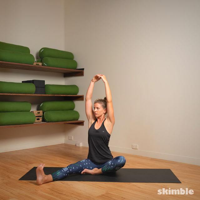 How to do: Head to Knee Pose - Step 5