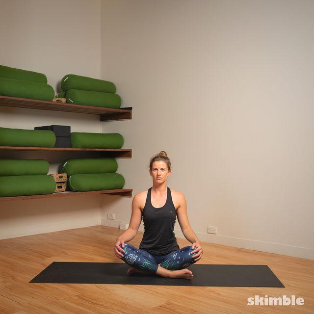 How to do: Head to Knee Pose - Step 6