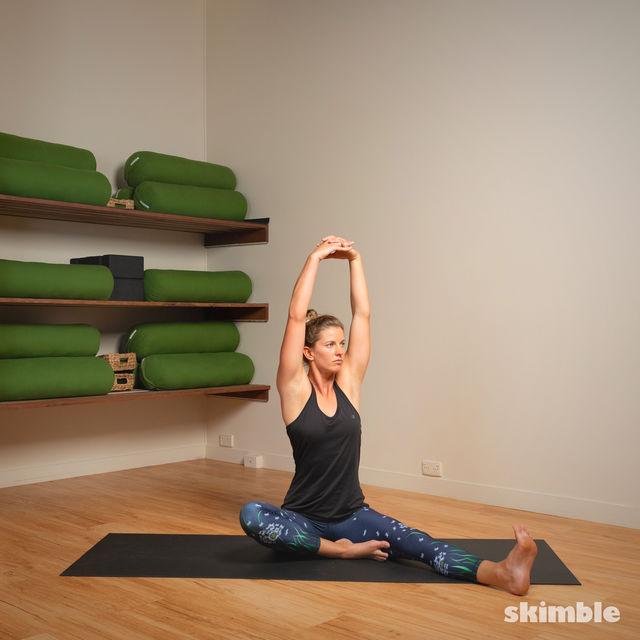 How to do: Head to Knee Pose - Step 8