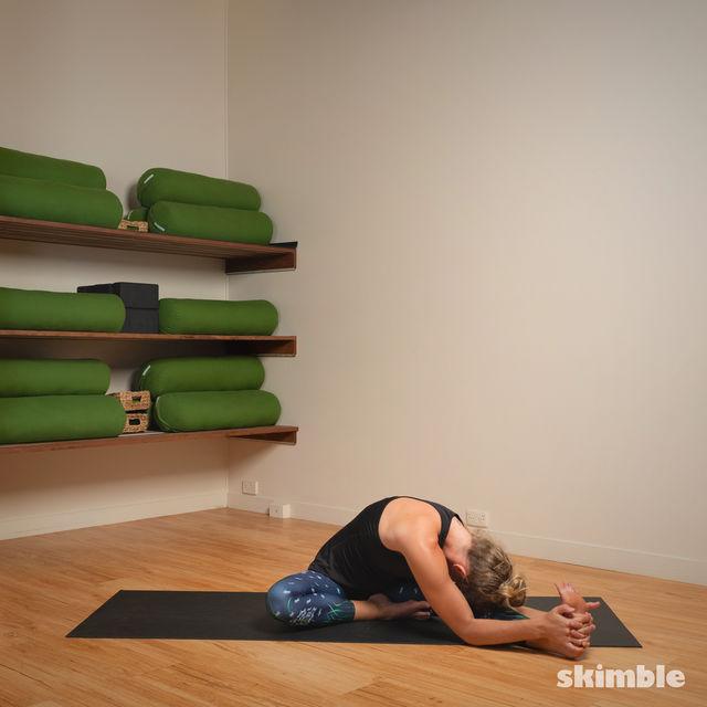 How to do: Head to Knee Pose - Step 9