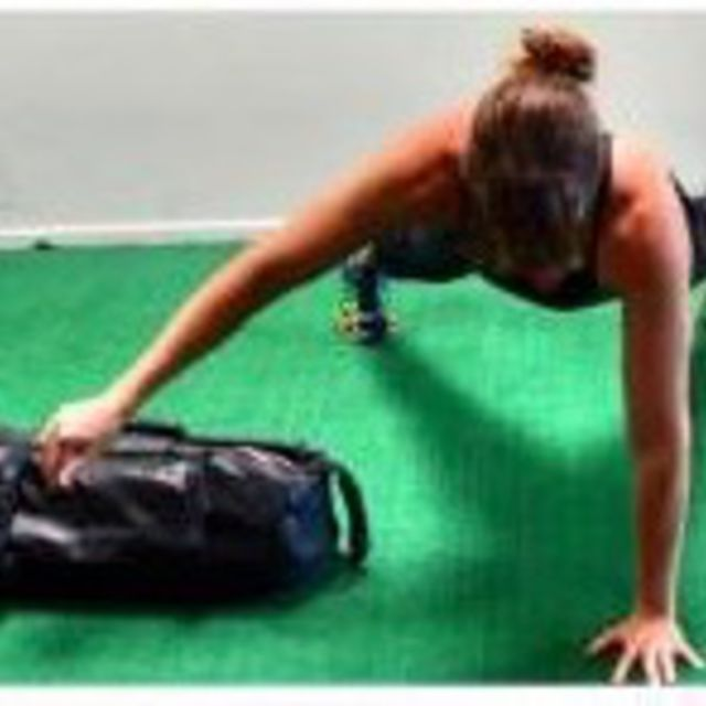 How to do: Bag Pull Throughs - Step 6