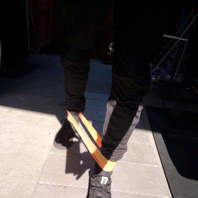 Banded Walks