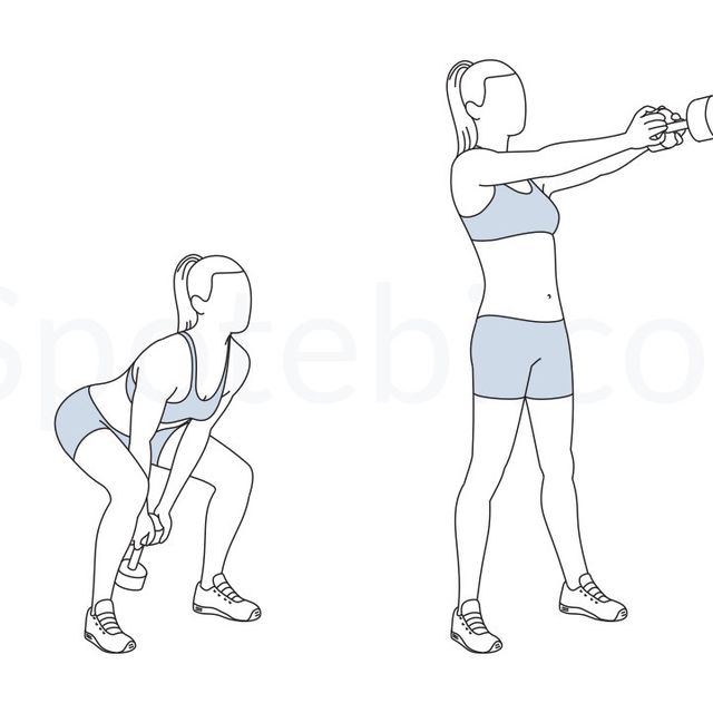 How to do: Weighted Swings - Step 1