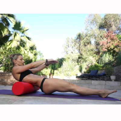 Back Roll + Core + Lower Body Loop Band