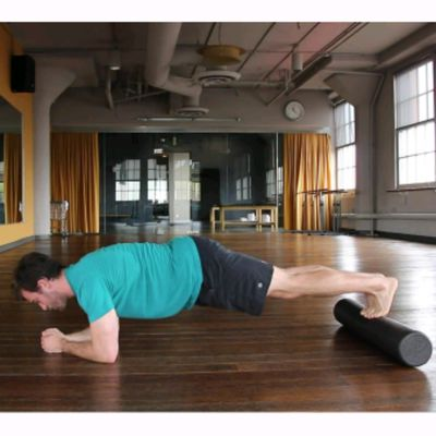 Elbow Plank On Foam Roller