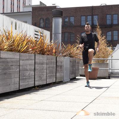 Ejercicios para piernas al aire libre