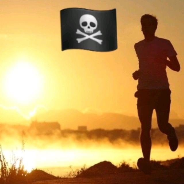 Early Morning Jogging/Running 🏴☠️😎🔥