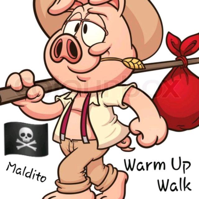 Warm Up Walk 15 Minutes🏴☠️🔥😎