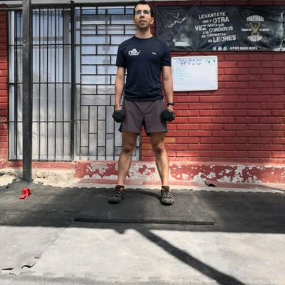 Piernas y hombros - Trainer Workout by Francisco Perez..