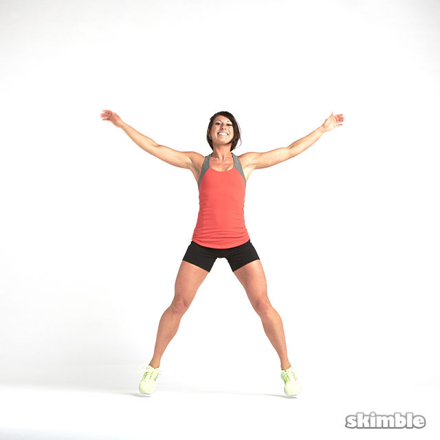 How to do: Cardio Warm Up - Step 4
