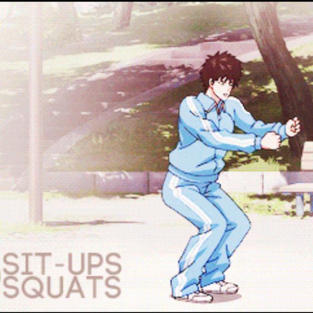Squats Saitama - Exercise How-to - Workout Trainer by Skimble